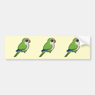 Monk Parakeet Bumper Stickers