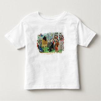 Monk Preaching on Imitation T-shirts