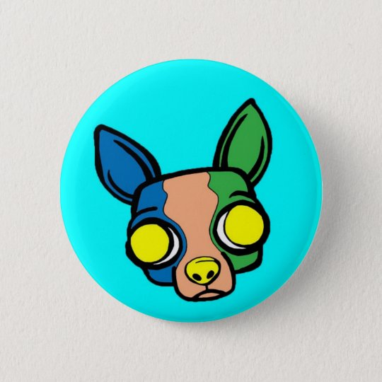 Monk Puppy Pin - Turquoise