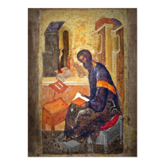Monk Studying Scripture Personalized Announcements