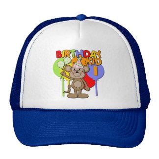 Monkey 1st Birthday Cap