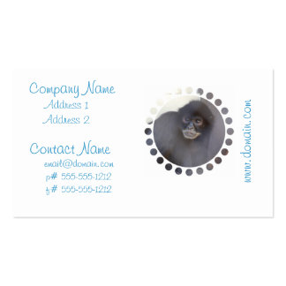 monkey-233.jpg pack of standard business cards
