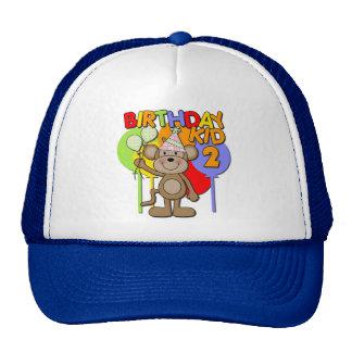 Monkey 2nd Birthday Cap