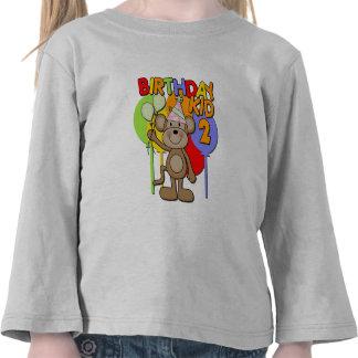 Monkey 2nd Birthday Tees