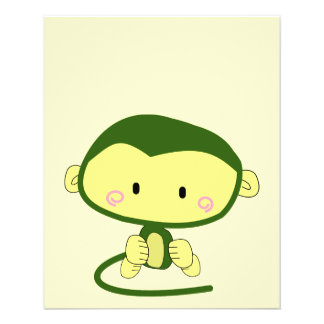 monkey-304258 monkey cartoon character cute ape i full color flyer