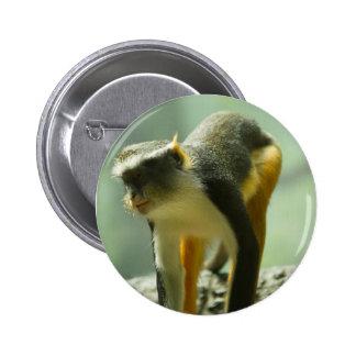 Monkey 6 Cm Round Badge