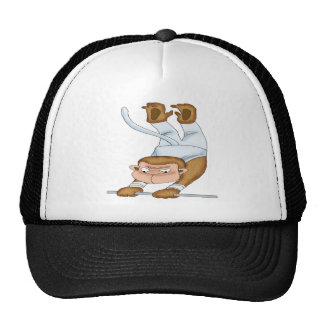 Monkey Acrobat Trucker Hat