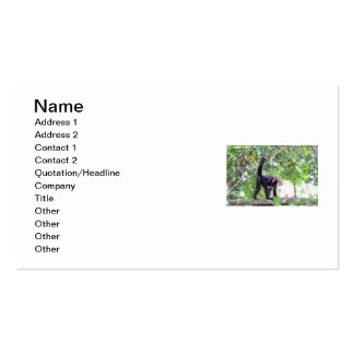 Monkey and Baby Double-Sided Standard Business Cards (Pack Of 100)