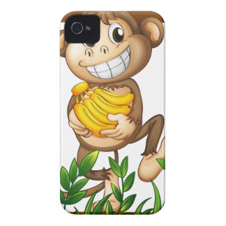 Monkey and banana iPhone 4 Case-Mate case