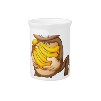Monkey and banana drink pitchers