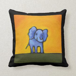 Monkey and Elephant Pillow