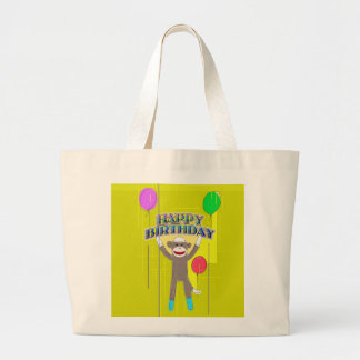 Monkey and the balloons. bags
