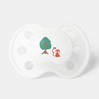 Monkey And Tree Baby Pacifier