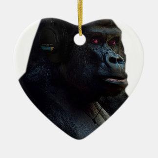 Monkey Ape Music Fun Christmas Ornament