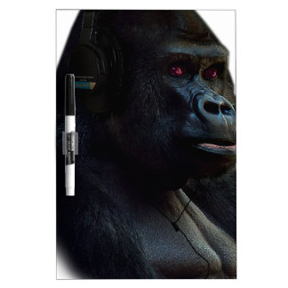 Monkey Ape Music Fun Dry Erase Board