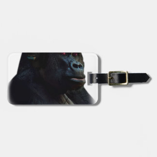 Monkey Ape Music Fun Luggage Tag