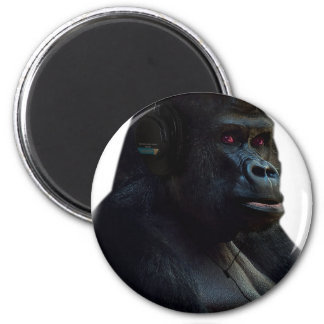 Monkey Ape Music Fun Magnet