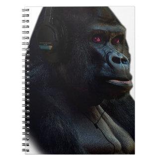 Monkey Ape Music Fun Notebook