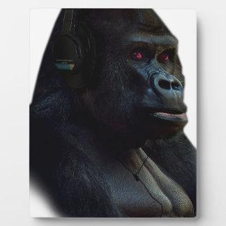 Monkey Ape Music Fun Plaque