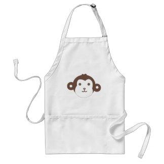 monkey adult apron