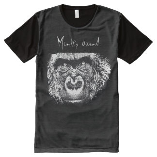 monkey around All-Over print T-Shirt