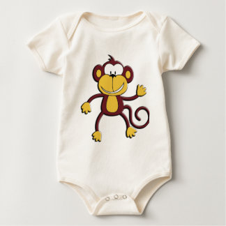 Monkey Around Baby Bodysuit