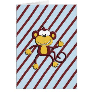 Monkey Around RSVP Card