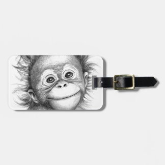 Monkey - Baby Orang outan 2016 G-121 Luggage Tag