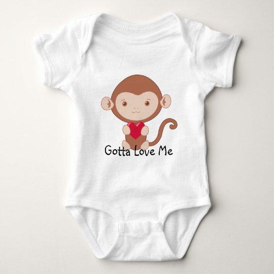 Monkey Baby Shirt