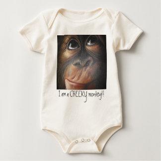 Monkey BabyGrow Baby Bodysuit