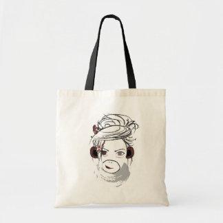 monkey. tote bag
