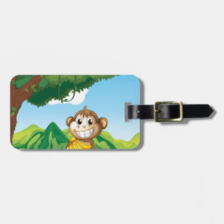 Monkey Bag Tag