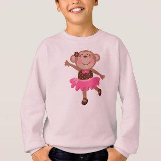 Monkey Ballerina Sweatshirt