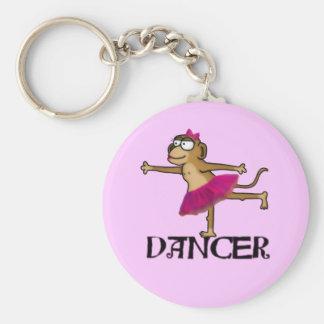 Monkey Ballet Key Chains
