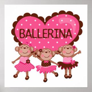 Monkey Ballet Poster