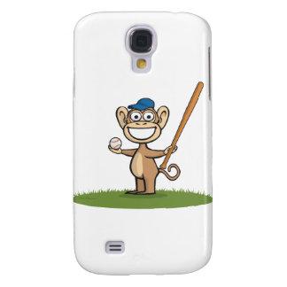 Monkey Baseball Galaxy S4 Case