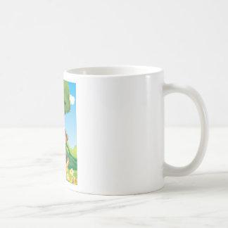 Monkey Basic White Mug