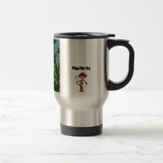 Monkey Beach est 2011® Coffee Travel Mug