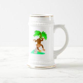 Monkey Beer Stein