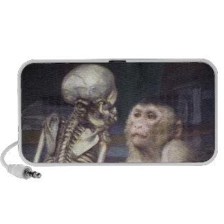 Monkey Before Skeleton Speaker