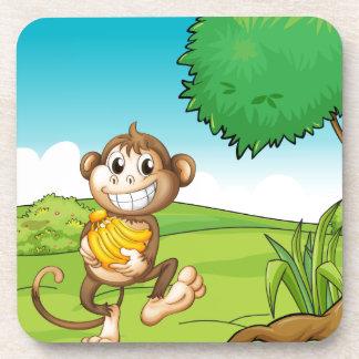 Monkey Beverage Coasters