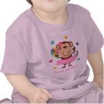Monkey Big Sister Tshirt