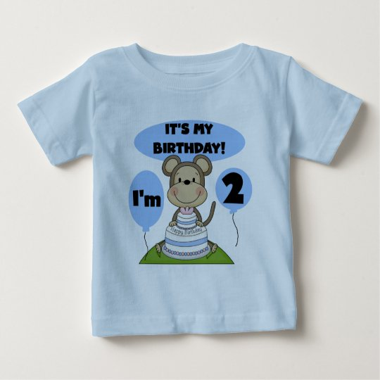 Monkey Birthday Boy 2nd Tshirts and Gifts