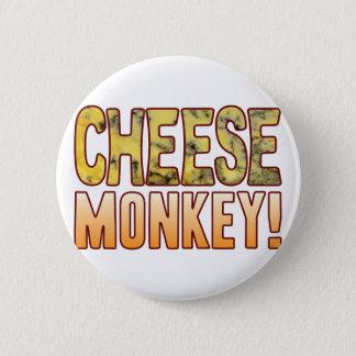 Monkey Blue Cheese 6 Cm Round Badge