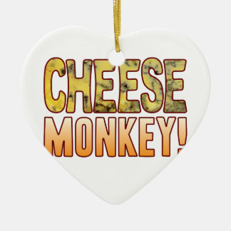 Monkey Blue Cheese Christmas Ornament