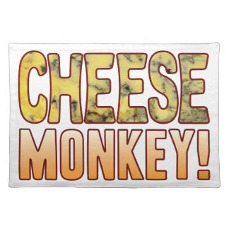 Monkey Blue Cheese Placemat
