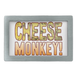 Monkey Blue Cheese Rectangular Belt Buckle
