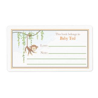 Monkey Bookplate