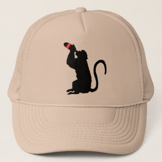Monkey Booze Trucker Hat