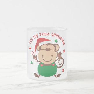 Monkey Boy 1st Christmas Mug